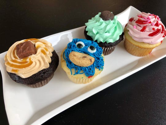 An assortment of cupcakes from Sweety's on Pine Island Road in Cape Coral.