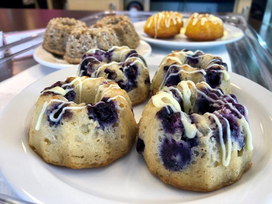 Sweety's makes a variety of mini Bundt cakes including blueberry with lemon drizzle.