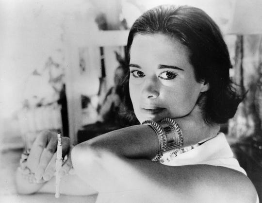 Railroad heiress Gloria Vanderbilt Cooper is seen in this January 4, 1964 photograph.  (AP Photo)