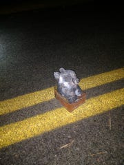 'Terrorist sympathizer' left a teddy bear pipe bomb in the middle of a road, FBI says