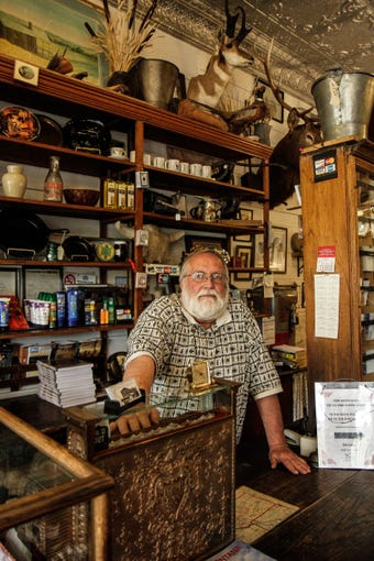 Virgelle Mercantile antique store, cabins and BnB in Loma