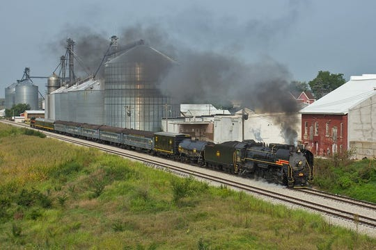 Oxford sesquicentennial celebrated with steam train revival
