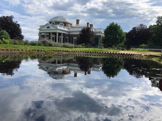On the Washington Youth Tour trip, students tour the capital city and learn its history. Benjamin Naylor, a Haywood County High School rising senior, photographed the Monticello as the clouds loomed over the water near it.