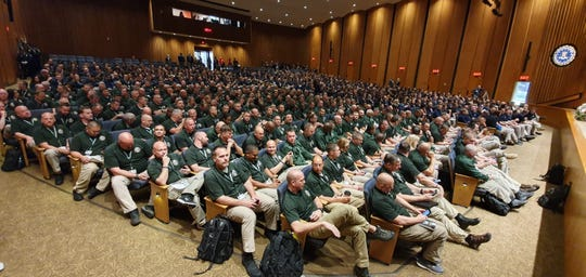 More than 250 law enforcement officers attended the spring 2019 FBI National Academy between April 1 and June 7, 2019, in Quantico, Va., including Jackson Police Department Maj. Phillip Kemper.