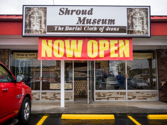 Pigeon Forge museum shows replica of controversial Shroud of