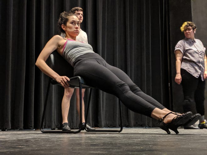 Michelle Colon preparing for her role as Velma Kelly