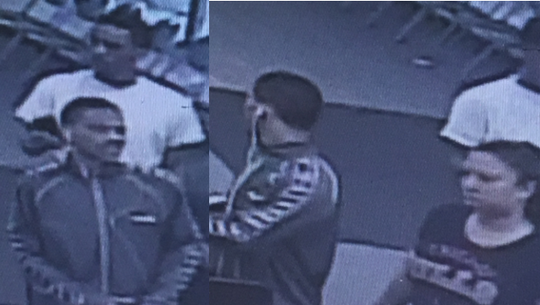 Lansing police believe the people in this photo have valuable information regarding a shooting at the Secretary of State's office Monday morning.