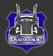 A logo for Overdrive, a new bar and entertainment venue expected to open in a space previously occupied by Tequila Cowboy Bar & Grill at the Lansing Mall.