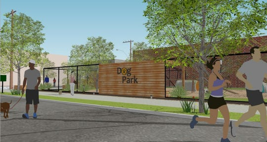 The Downtown Memphis commission wants to add a dog park and other improvements to the corner of G.E. Patterson Avenue and South Front Street in the South Main neighborhood.