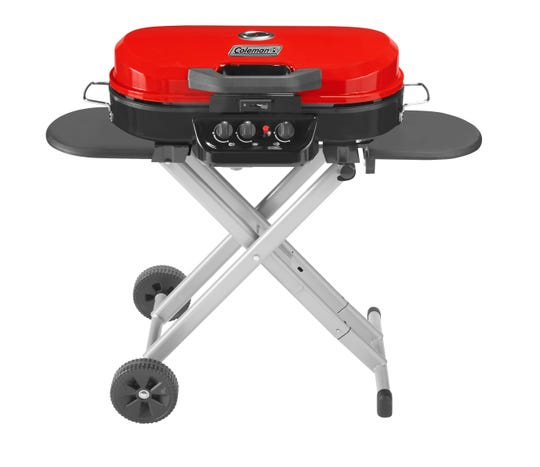 The Coleman RoadTrip Grill is a popular option for roadtrips.