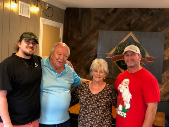 The Greer family owns and operates Bogie's in East Memphis. Pictured (from left to right) are Hunter Greer, Gordon Greer, Sharon Greer and Brad Greer.