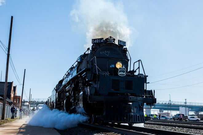 The Big Boy No. 4014 is coming out of retirement for a trip around the Midwest.