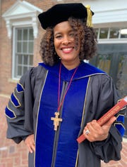 Marijuana Pepsi Vandyck completed her dissertation and received a Ph.D. from Cardinal Stritch University in May. She kept her birth name of Marijuana Pepsi to prove to herself and others that you can overcome any obstacles in life and achieve your dreams.