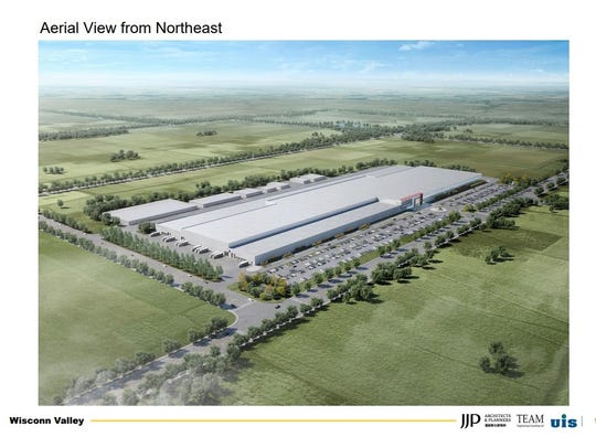 Foxconn Wisconsin: Factory plan shows trees, concrete and ...