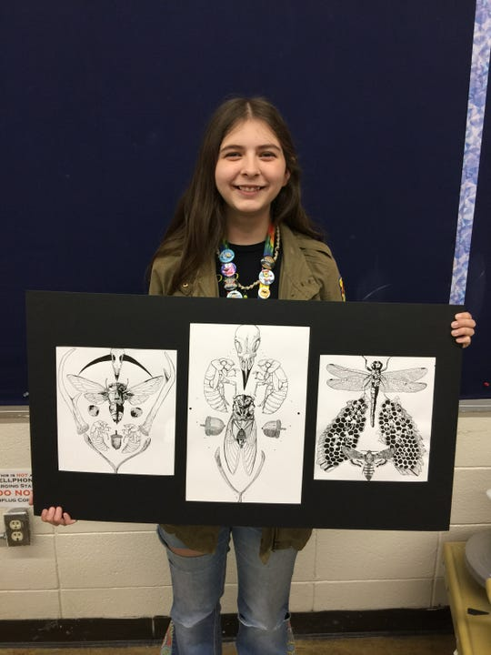 Breanna Hickmott, a 2019 graduate of Mountain Home High School, plans to attend Minneapolis College of Art and Design.