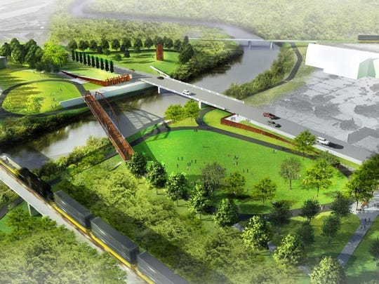 A historic bridge will be the centerpiece of the Kitselman Trailhead and Park on the east side of Muncie.