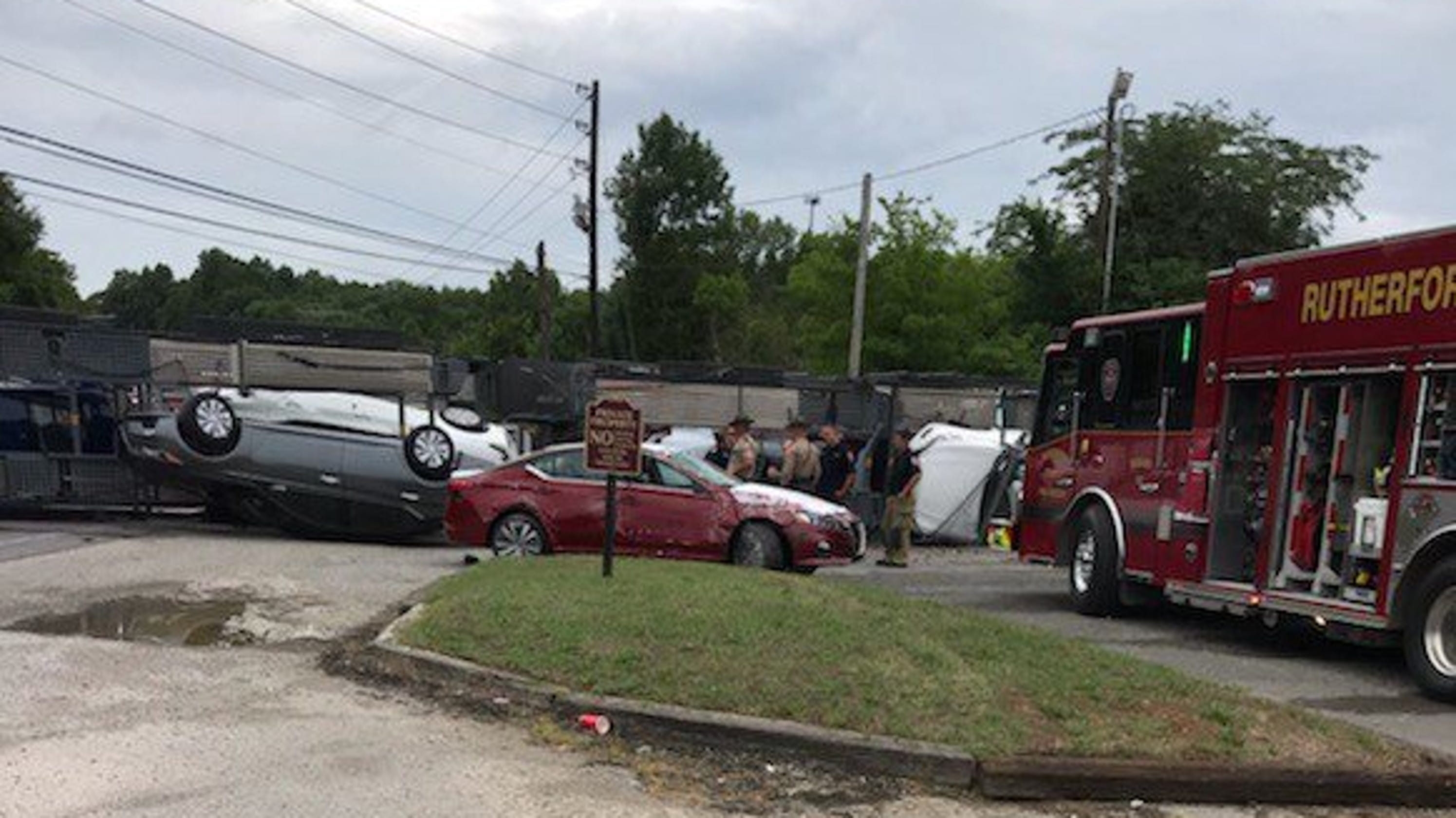 RCFR: West Jefferson Pike opened after closure from overturned trailer