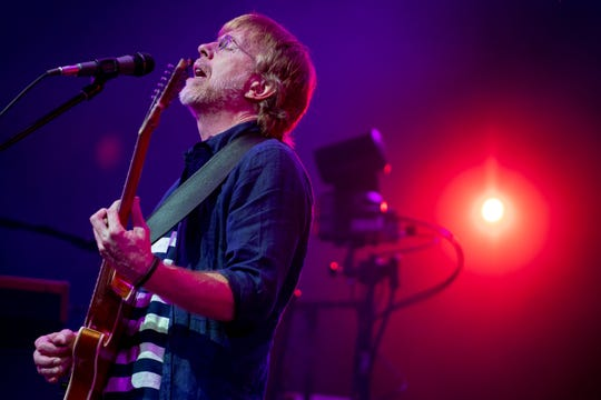 Phish performs at the Bonnaroo Music and Arts Festival in Manchester, Tenn., Sunday, June 16, 2019.