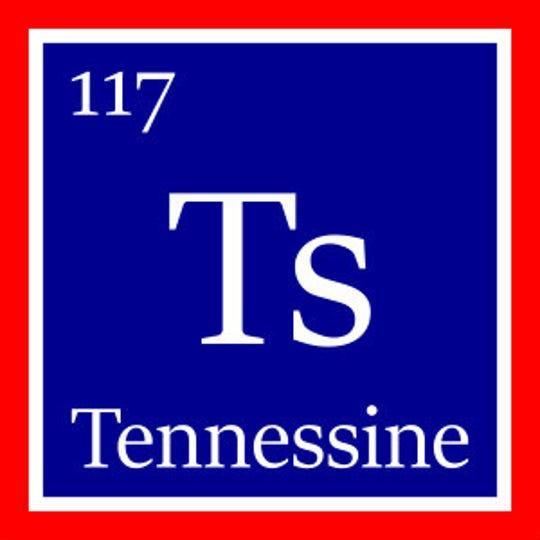 "Phillip Jones' design for the ""Tennessine"" element."