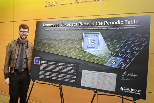 "Phillip Jones at the January 27, 2017 ceremony celebrating ""Tennessine"" being placed on the periodic table."