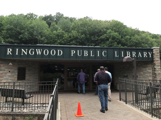 The Ringwood Public Library is seen on July 13, 2017.