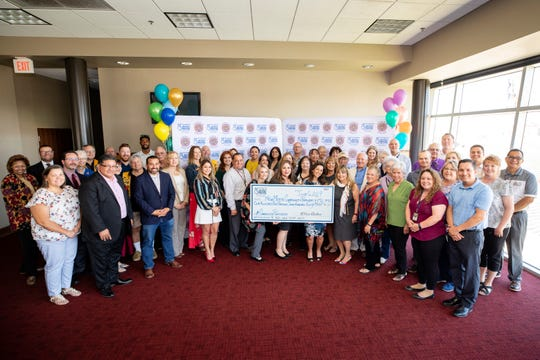 El Paso Electric's (EPE) Community Partner Program, part of the Company's corporate citizenship initiative, awarded $150,750 to 25 non-for-profit organizations in southern New Mexico at a reception held at New Mexico State University.