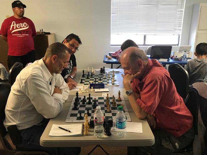 Mini Swiss chess tournament in Alamogordo.