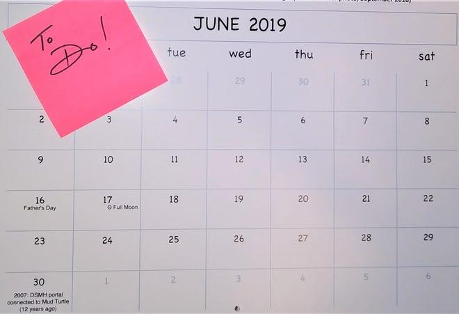 Community Briefs calendar