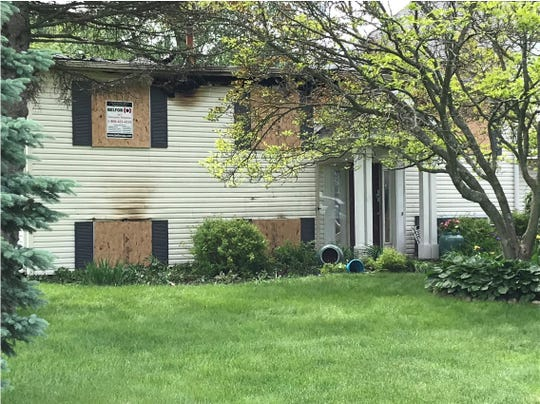This Highland Township home is considered a total loss after an early Sunday morning fire.