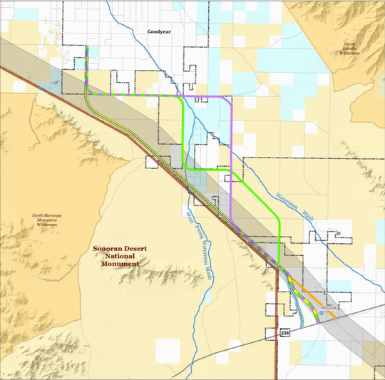 The Bureau of Land Management gave Goodyear the go-ahead to build the 15-mile Sonoran Valley Parkway 11 years after the city first proposed it.