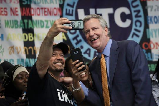 Bill de Blasio, alcalde de Nueva York, busca la presidencia en 2020.