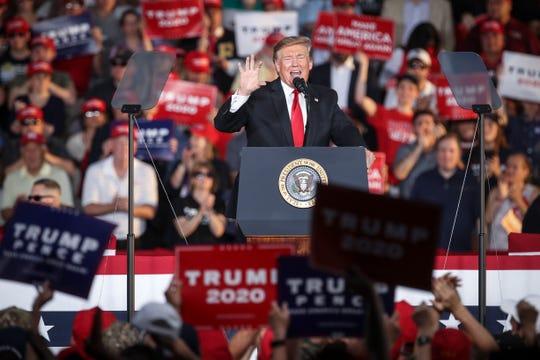 El presidente de Estados Unidos Donald Trump buscará la reelección en 2020.