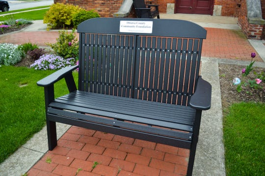 "Funding this ""Forever Bench"" was one of the smaller projects the Ottawa County Community Foundation supported last year. The foundation awarded $47,388 in grant money in 2018."