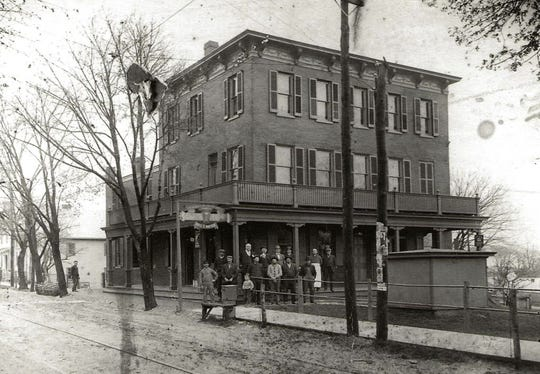 The house was turned into a hotel in the late 1800s.