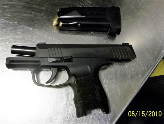 The loaded handgun was found in a traveler's carry-on bag at Harrisburg International Airport over the weekend, according to the Transportation Security Administration.