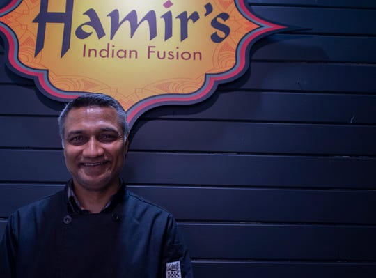 Hamir Patel of Hamir's Indian Fusion in downtown York. According to Patel, it would take him up to three or four years   to afford a liquor license for his restaurant.
