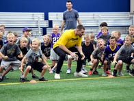 Harrison Smith, Nate Gerry visit Sioux Falls for football camp, look to big 2019