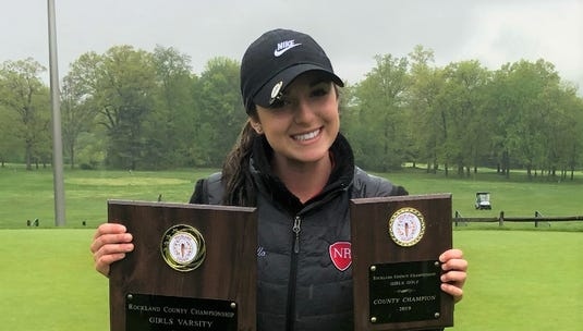 North Rockland senior Sophie Morello shifted her focus to golf ahead of high school and closed out her career as the county champion.