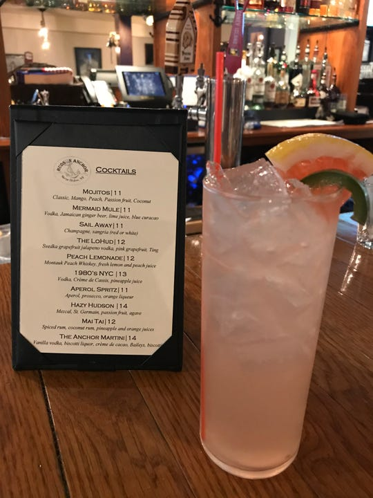 The Lohud cocktail at Hudson Anchor in Sleepy Hollow.