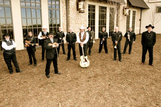 Dave Alexander and His Big Texas Swing Band will perform twice today beginning at noon at the 2019 Legends of Lone Star Swing in the Ray Clymer Exhibit Hall. The Swing show continues Saturday