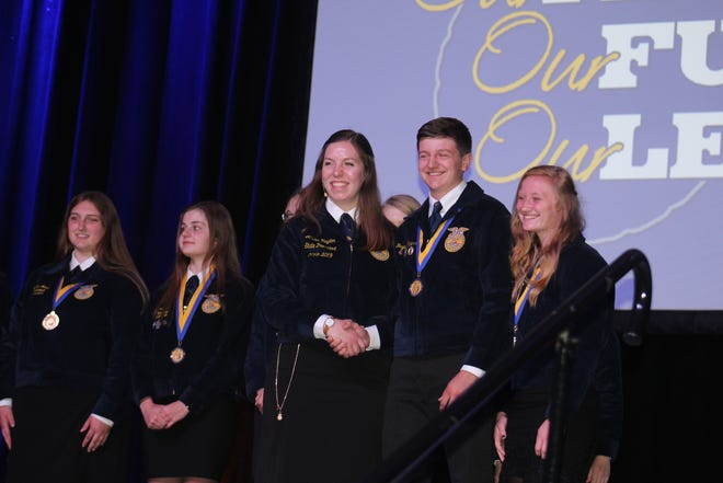 FFA members from across the state of Wisconsin were recognized for their hard work and dedication over the past year during the 90th annual Wisconsin FFA Convention held at the Alliant Energy Center in Madison, June 10-13.