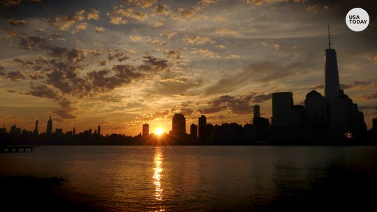 Are you walking on sunshine? The summer solstice is Friday
