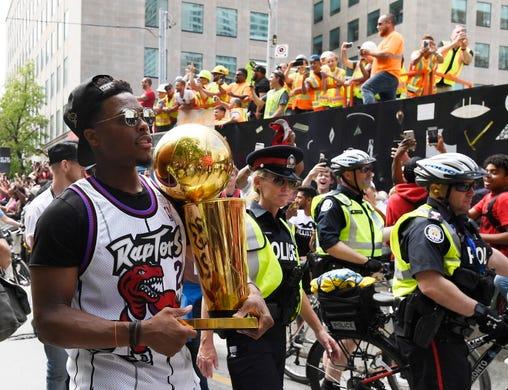Shots fired during Toronto Raptors' NBA championship parade, police say