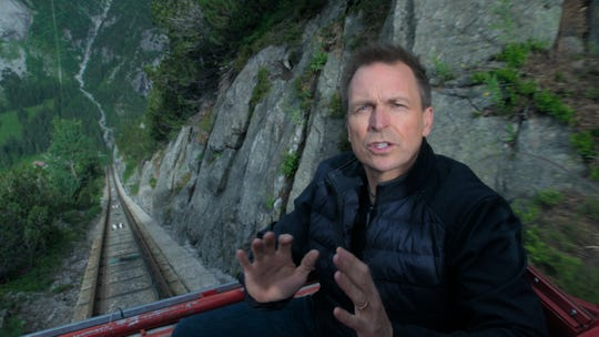 Phil Keoghan hosts CBS' 'The Amazing Race,' which returns for its 32nd season in October.