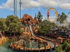 America's top log flume rides: Five of our favorites, from Splash Mountain to Ripsaw Falls