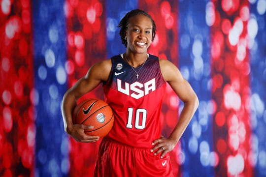 Tamika Catchings won her fourth consecutive basketball gold medal with Team USA in the 2016 Rio Olympics.