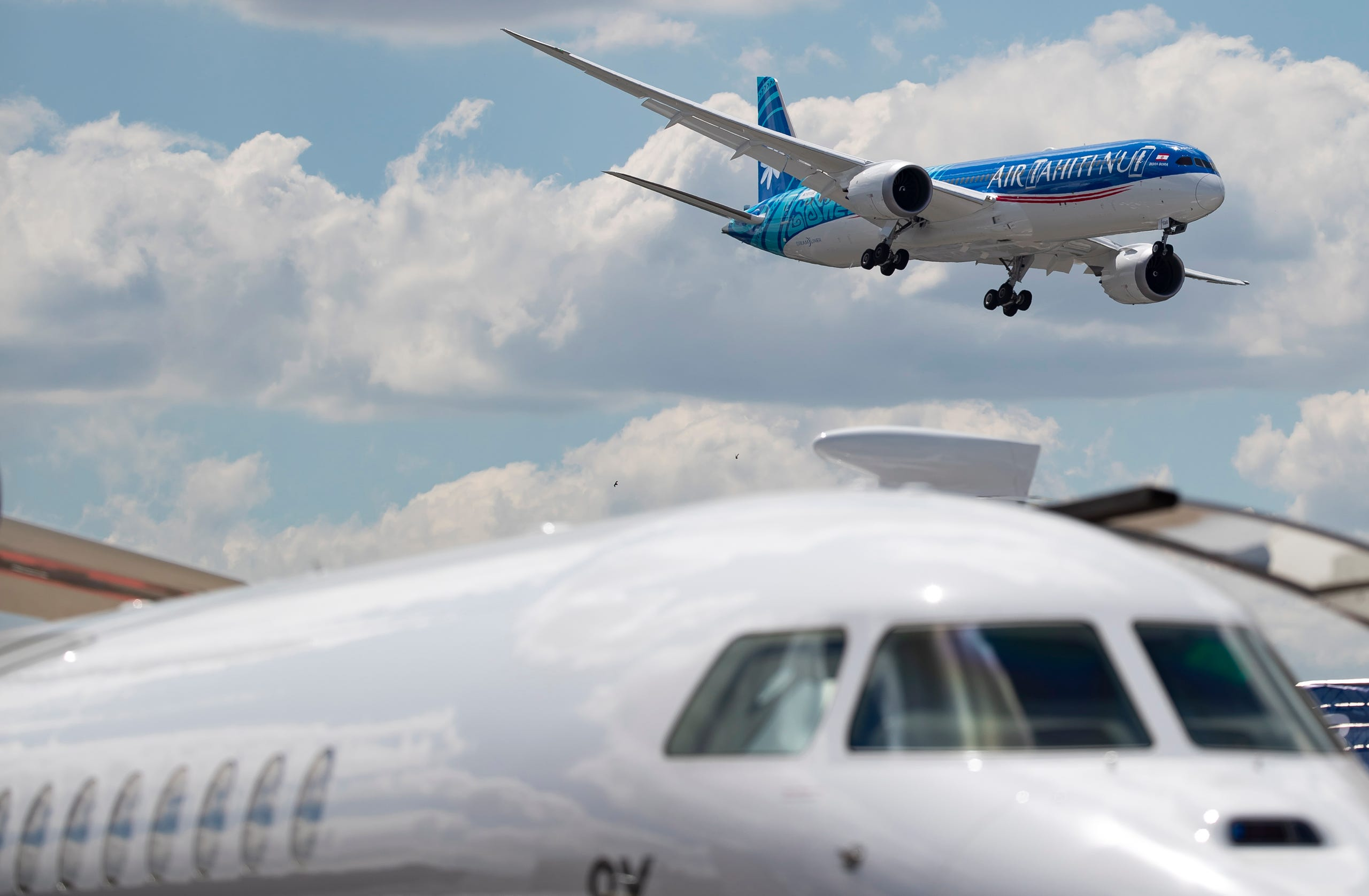 A Boeing 787-9, June 17, 2019.