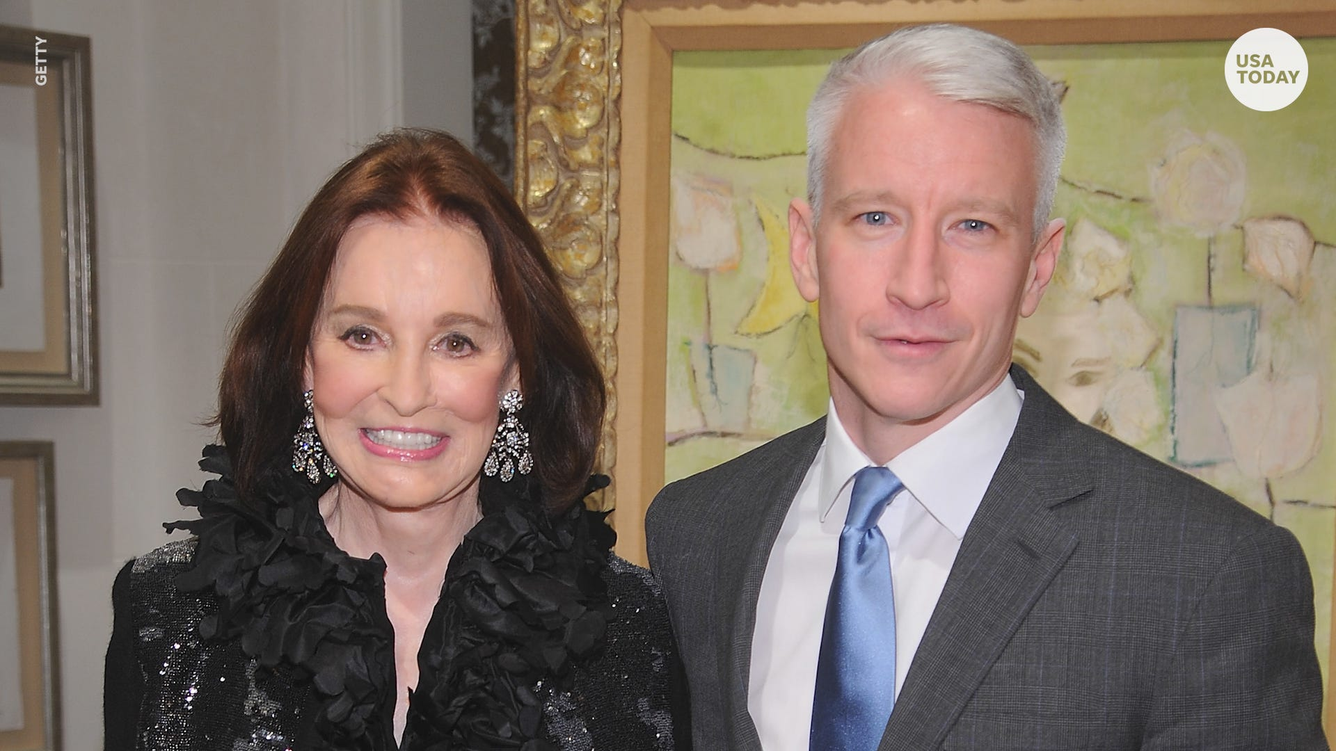 Gloria Vanderbilt, fashion icon and socialite, dies at age 95