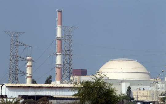 This file photo taken on August 20, 2010 shows the reactor building at the Bushehr nuclear power plant in southern Iran, 1200 kms south of Tehran.