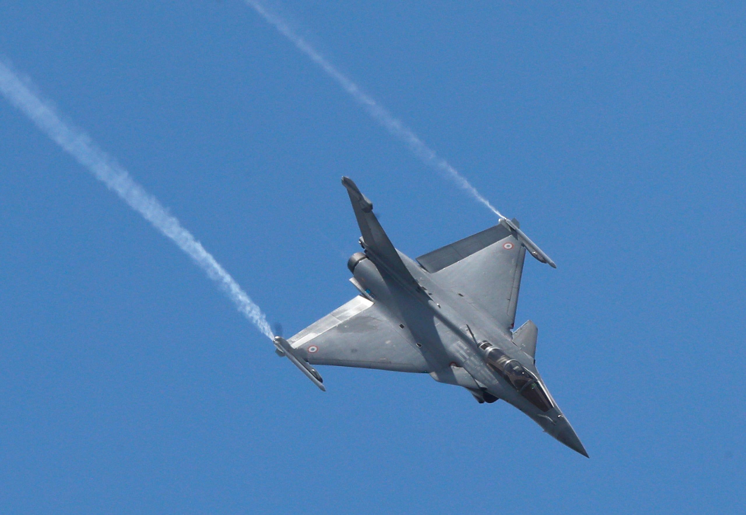 A Dassault Rafale fighter jet, June 17, 2019.